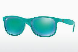 Ophthalmics Ray-Ban ANDY (RB4202 60723R) - Blue, Green