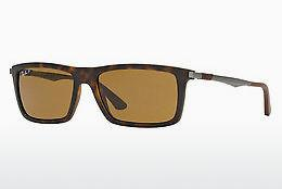 Ophthalmics Ray-Ban RB4214 609283 - Brown, Havanna