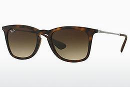 Ophthalmics Ray-Ban RB4221 865/13 - Brown, Havanna