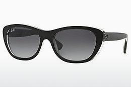 Ophthalmics Ray-Ban RB4227 60528G - Black, Transparent