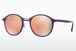 Ophthalmics Ray-Ban Round Ii Light Ray (RB4242 60342Y) - Purple