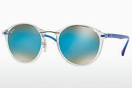 Ophthalmics Ray-Ban Round Ii Light Ray (RB4242 6289B7) - Transparent