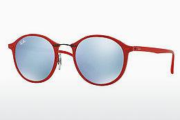 Ophthalmics Ray-Ban Round Ii Light Ray (RB4242 764/30) - Red