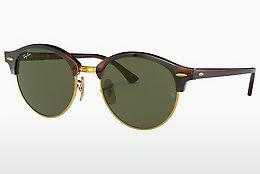 Ophthalmics Ray-Ban Clubround (RB4246 990) - Brown, Havanna