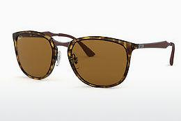 Ophthalmics Ray-Ban RB4299 710/83 - Brown, Havanna