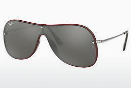 Ophthalmics Ray-Ban RB4311N 63596G - Grey, Brown, Havanna, Red