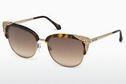 Ophthalmics Roberto Cavalli RC1014 52G - Brown, Dark, Havana