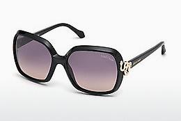 Ophthalmics Roberto Cavalli RC1016 01B - Black, Shiny