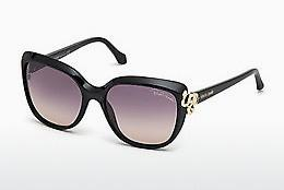 Ophthalmics Roberto Cavalli RC1017 01B - Black, Shiny