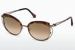 Ophthalmics Roberto Cavalli RC1032 52G - Brown, Dark, Havana