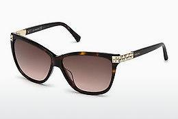 Ophthalmics Swarovski SK0137 52F - Brown, Dark, Havana