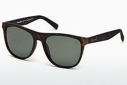 Ophthalmics Timberland TB9124 52R - Brown, Dark, Havana