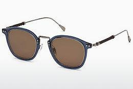 Ophthalmics Tod's TO0218 90E - Blue, Shiny