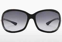 Ophthalmics Tom Ford Jennifer (FT0008 01B) - Black, Shiny
