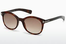 Ophthalmics Tom Ford Riley (FT0298 52F) - Brown, Dark, Havana