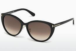 Ophthalmics Tom Ford Gina (FT0345 01B) - Black, Shiny