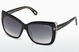 Ophthalmics Tom Ford Irina (FT0390 01B) - Black, Shiny