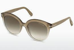 Ophthalmics Tom Ford Monica (FT0429 59B) - Horn, Beige, Brown