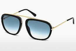 Ophthalmics Tom Ford Johnson (FT0453 01P) - Black, Shiny