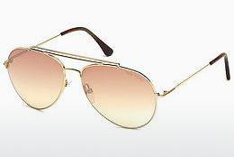 Ophthalmics Tom Ford Indiana (FT0497 28Z) - Gold