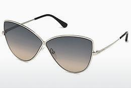 Ophthalmics Tom Ford FT0569 16B - Silver, Shiny, Grey