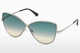 Ophthalmics Tom Ford FT0569 16W - Silver, Shiny, Grey