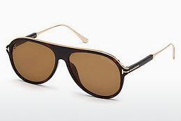 Ophthalmics Tom Ford FT0624 52E - Brown, Dark, Havana