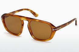 Ophthalmics Tom Ford FT0634 53E - Yellow, Brown, Havanna