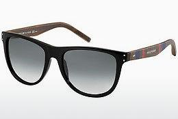Ophthalmics Tommy Hilfiger TH 1112/S 4K1/JJ - Black