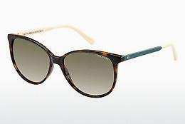 Ophthalmics Tommy Hilfiger TH 1261/S 4LV/HA - Brown, Havanna