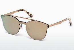 Ophthalmics Web Eyewear WE0190 34G - Bronze, Bright, Shiny