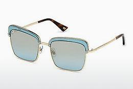 Ophthalmics Web Eyewear WE0219 84W - Blue, Azure, Shiny