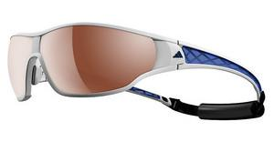 Adidas A189 6056 LST polarized silver H+white/blue