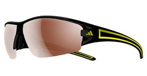 Adidas A412 6108 LST polarized silverblack/yellow