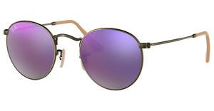 Ray-Ban RB3447 167/4K LILLAC MIRRORDEMIGLOS BRUSCHED BRONZE