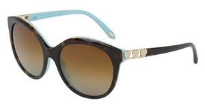 Tiffany TF4133 8134T3 POLAR BROWN GRADIENTHAVANA/BLUE