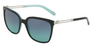 Tiffany TF4138 80559S AZURE GRADIENT BLUEBLACK/BLUE