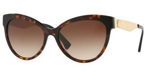 Versace VE4338 108/13 BROWN GRADIENTDARK HAVANA/BLACK