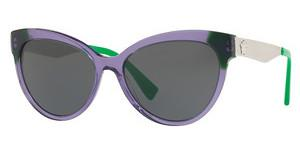 Versace VE4338 524587 GREYTRANSPARENT VIOLET/GREEN