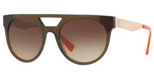 Versace VE4339 523513 BROWN GRADIENTTRANSPARENT GREEN/ORANGE