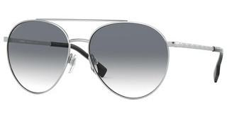 Burberry BE3115 10058E CLEAR GRADIENT LIGHT GREENSILVER