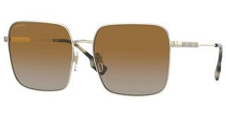 Burberry BE3119 1109T5 POLAR BROWN GRADIENTLIGHT GOLD