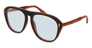 Gucci GG0128S 009 LIGHT BLUEHAVANA
