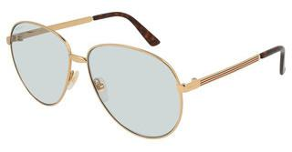 Gucci GG0138S 004 LIGHT BLUEGOLD
