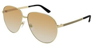 Gucci GG0138S 007 BROWNGOLD