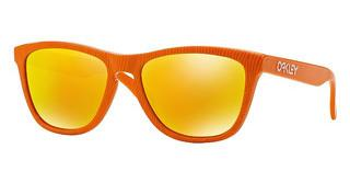 Oakley OO9013 901353 FIRE IRIDIUMFINGERPRINT ATOMIC ORANGE