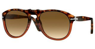 Persol PO0649 112151 CLEAR GRADIENT BROWNBROWN TORTOISE/TRASP BORDEAUX