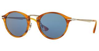 Persol PO3166S 960/56 LIGHT BLUESTRIPED BROWN