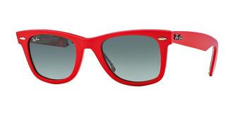 Ray-Ban RB2140 113971 CRYSTAL GREY GRADIENT AZURETOP CORAL ON TEXTURE SURF