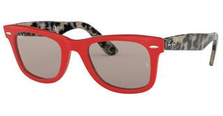 Ray-Ban RB2140 1243P2 GREY POLARRED